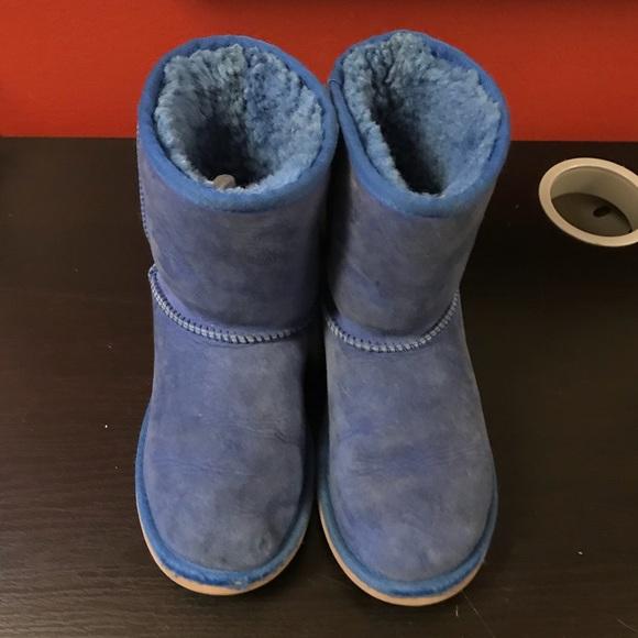 Girls Blue UGG boots